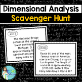 Dimensional Analysis Scavenger Hunt