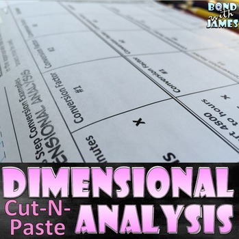 Dimensional Analysis: Time Conversions (Notebook Cut & Paste)
