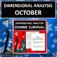 Dimensional Analysis: Winter Months Bundle (Factor Label Method)