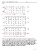Dimensional Analysis Worksheet (L2, Game)