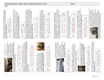 Dimensional Analysis ~ Punic Wars ~ Worksheet