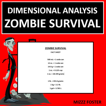 Dimensional Analysis: Zombie Survival