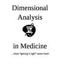 Dimensional Analysis in Medicine