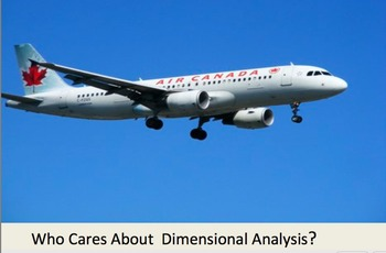 Dimensional Analysis in Real Life-Air Canada Flight 143