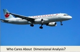 Dimensional Analysis in Real Life-Air Canada Flight 143