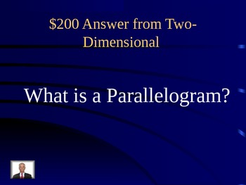 Dimensional Figure Jeopardy
