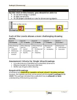 Dimensioning Drafting