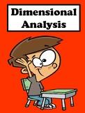 Dimensional Analysis No Prep Lesson