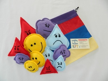 Dimensions of Feeling Shapes - Learning Centers, Group Dis