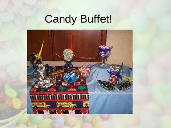 Diminishing Discipline Problems with the 3 C's Powerpoint/Candy Buffet