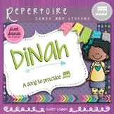 Dinah Rhythm Practice Activities