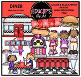 Diner Clip Art Bundle {Educlips Clipart}