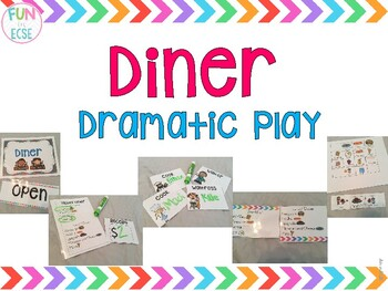 Diner Dramatic Play for Pre-K and Kindergarten