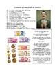 Dinero y el Banco (Spanish Money and Banking Vocab List)
