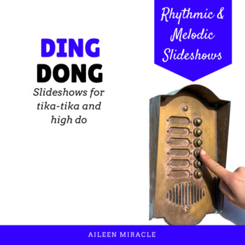 Ding Dong {Slideshows for high do and tika-tika}