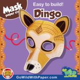 Dingo Mask | Printable Craft Activity