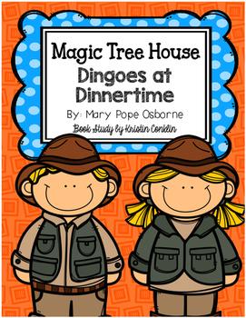 Magic Tree House #20 Dingoes at Dinnertime