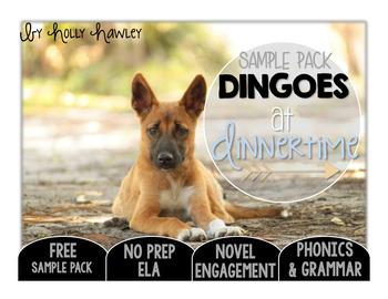 Dingoes at Dinnertime NO PREP (ELA) SAMPLE