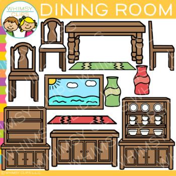 Dining Room Furniture Clip Art