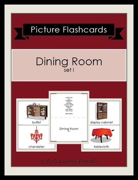 Dining Room (set I) Picture Flashcards