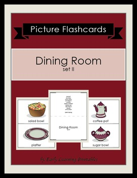 Dining Room (set II) Picture Flashcards
