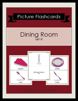 Dining Room (set III) Picture Flashcards
