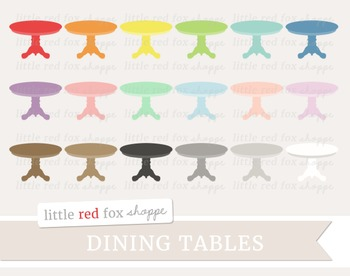 Dining Table Clipart; Furniture, Kitchen, Household