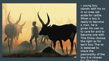 Dinka Relationship with Cattle