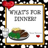 Dinner Book: INTERACTIVE