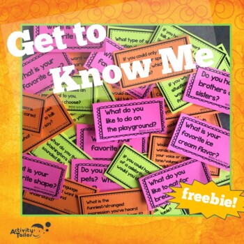 Get to Know Me and Dinner Conversation topics