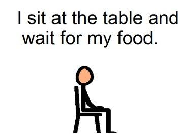 Dinnertime Social Story