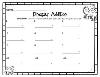 Dino Addition