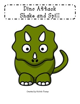 Dino Attack Shake and Spill