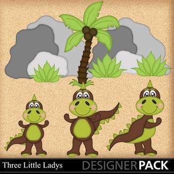Dino Baby  Boy 2 clipart
