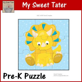 Dino Baby Pre-K Puzzle