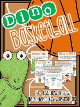 Dino-Basketball - A Literacy Unit