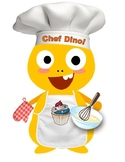 VIPKID Dino Chef Dress Up - Dino in the Kitchen