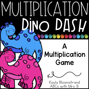 Dino Dash: A Multiplication Game