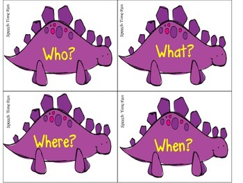 Dinosaur WH Questions
