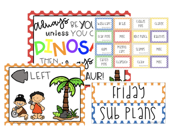 Dino Days Classroom Decor Set