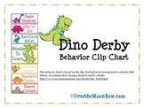 Dino Derby Behavior Clip Chart