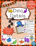 Dino Details: An Auditory Comprehension Activity