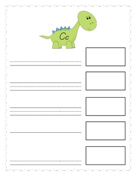 Dino Dictionary: A Picture Dictionary for Beginners