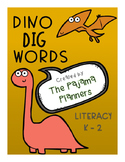Dino Dig Dolch Words
