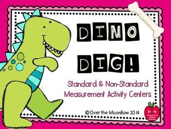 Dino Dig! Standard & Non-Standard Measurement Activity Centers