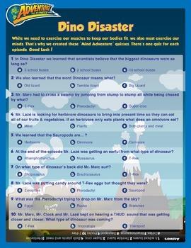 Dino Disaster Episode Quiz