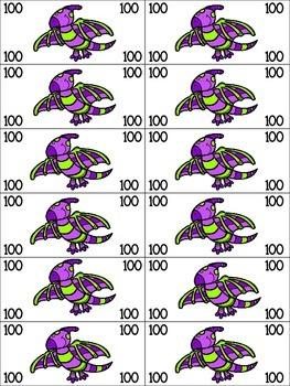 Dino Dollars!  Dinosaur Themed Classroom Management Reward Money
