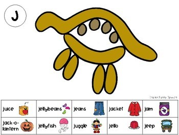 Dino Dough - mats for lateralized sounds /J, S, CH, SH/