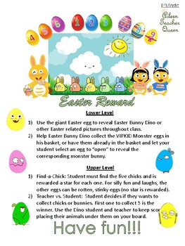 Dino Easter Bunny Reward System Bundle