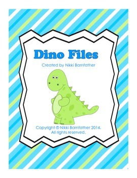 Dino Files - Research, Reading, Comprehension & Writing di